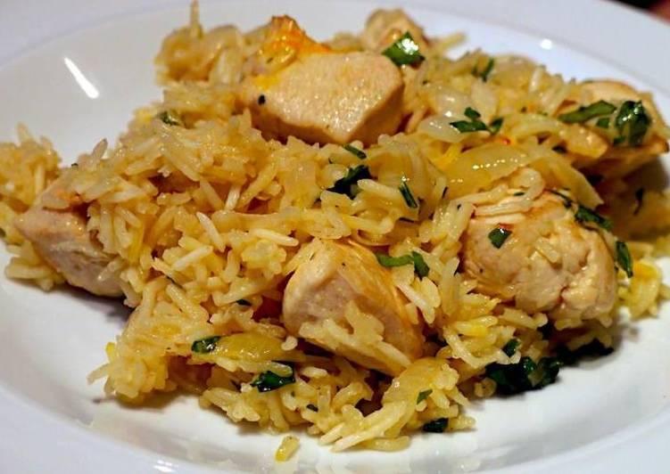 Ужин из риса в мультиварке 7