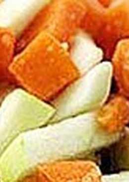 Салат с тыквой и медом