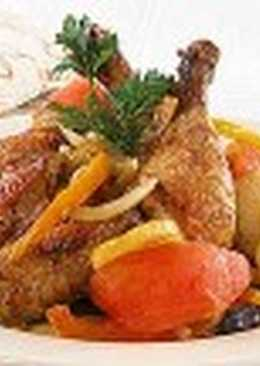 Жаркое из курицы