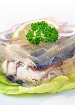 Идеи оформления заливных блюд
