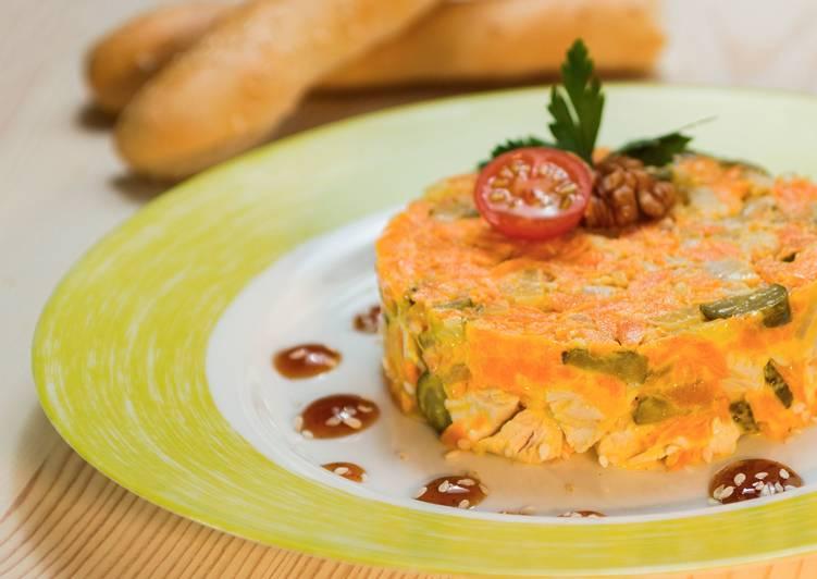 """Бесподобный салат """"Обжорка"""" - просто, бюджетно и очень вкусно"""