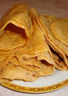 Тортилья (кукурузные лепешки)