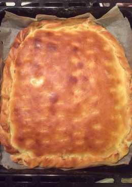 Пироги с мясом и сыром на дрожжевом тесте