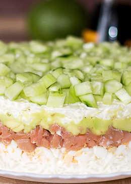 Салат в японском стиле – одна большая «суша»