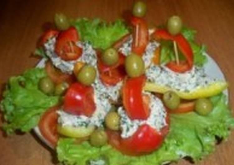 Закуска легкая «Алые паруса»