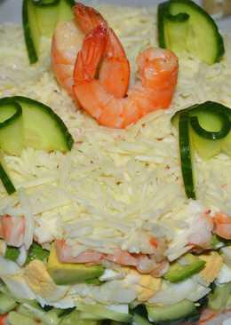 Салат на Новый год! Ну, очень вкусный и нежный салат!