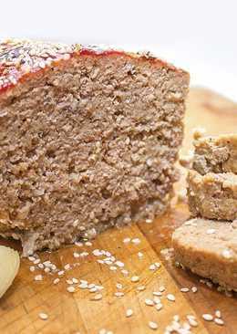 Мясной Хлеб. Очень вкусное блюдо из мясного фарша!