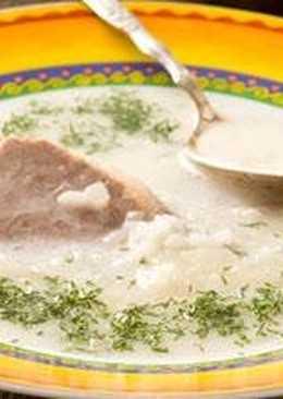 Брндзи апур (Суп рисовый)