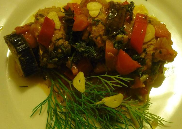 Баклажаны по-турецки - простой рецепт вкусной закуски