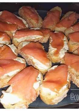Бутерброд с семгой #кукпадбутеротпад