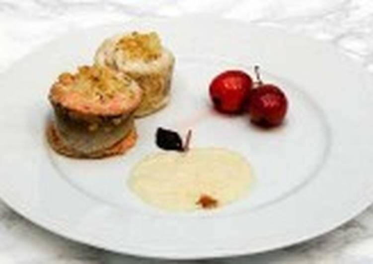 Закуска с судаком и горбушей «Яблочный спас»