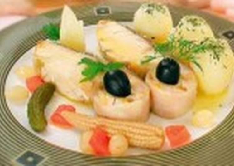 Салат из белуги, осетрины и севрюги