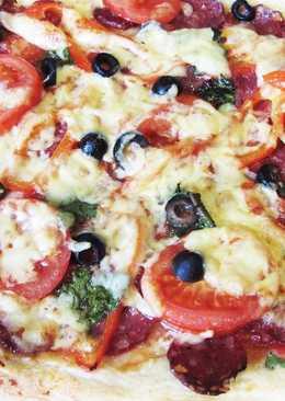 Рецепт пиццы на дрожжевом тесте
