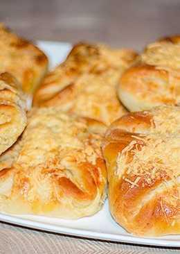 Слоеные сырные булочки с хрустящей корочкой
