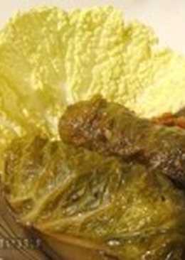 Голубцы из краснокочанной капусты