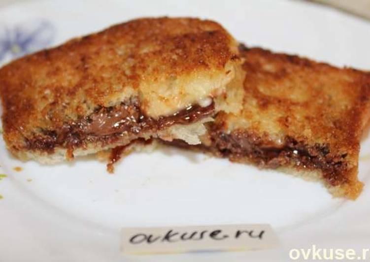 Нежный бананово-шоколадный десерт