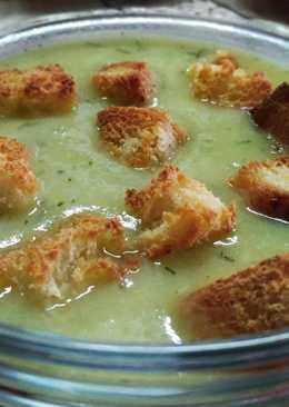 Суп - пюре из кабачков