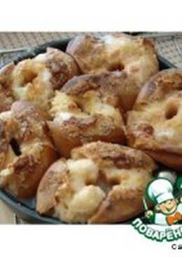 Компот из печеных яблок
