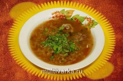 Суп-харчо в мультиварке