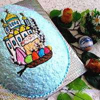 "Торт ""Светлая Пасха"""