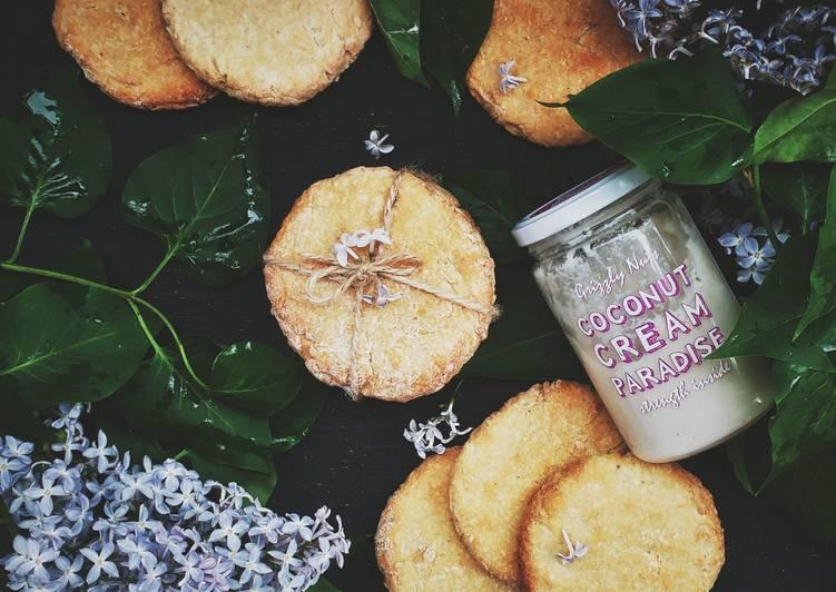 Кокосовое печенье на кокосовой пасте