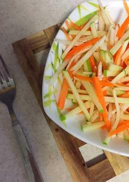 Овощной салат «Легкость»