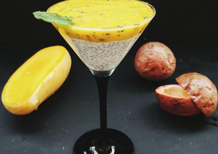 Рецепт манго десерт