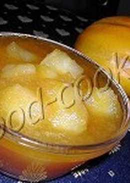 Варенье из сладких яблок