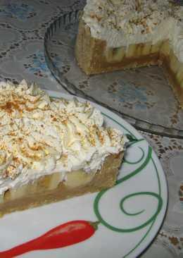 Английский Пирог Баноффи Пай (Banoffee Pie). Без выпечки