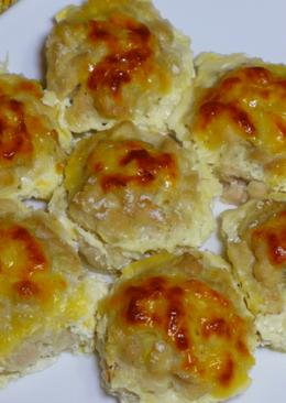 Куриные шарики в сливочно-сырном соусе