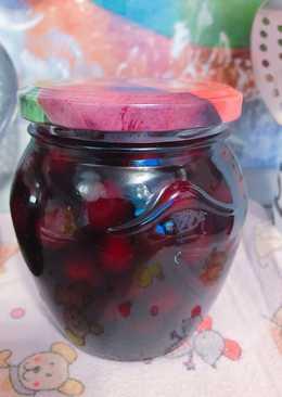 Варенье из вишни «пятиминутка» #заготовки