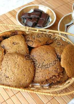 Домашнее кофейное печенье «КАПУЧИНО» с кусочками шоколада