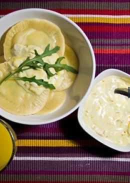 Равиоли с цуккини и сыром