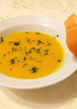 Суп-пюре из тыквы/ Полезный и вкусный супчик