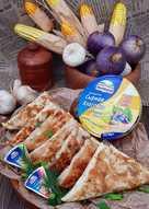 Горячие, закрытые бутерброды из армянского лаваша