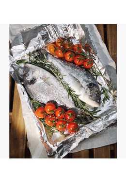 Рыба Дорадо с овощами