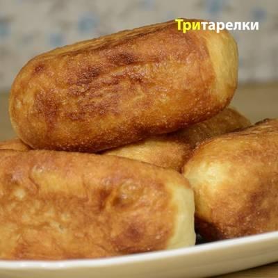 Дрожжевые пирожки с картошкой