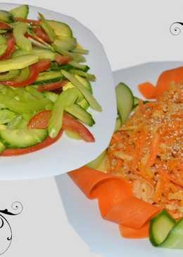 Салат из сельдерея и авокадо без майонеза!