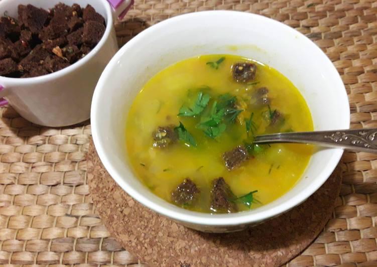 Рецепты гороховый суп пошаговый рецепт