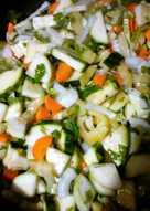 Салат с кабачкам на зиму