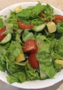 Салат из свежих овощей 🥗