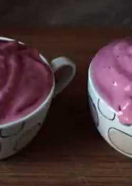 Вишнёвый смузи, десерт из замороженной вишни