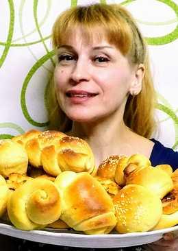 Сдобные булочки на молоке пышные нежные - рецепт булочек от бабушки