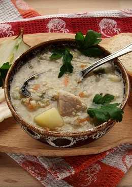 Суп «Кулеш» с говядиной
