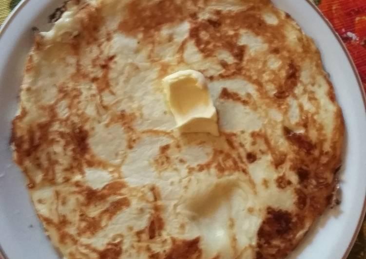 Сырная лепешка на мацони