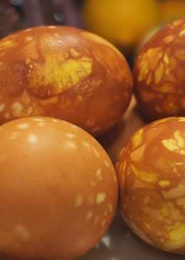 Как покрасить Яйца на Пасху! Самый Доступный, Быстрый и Оригинальный способ окрашивания