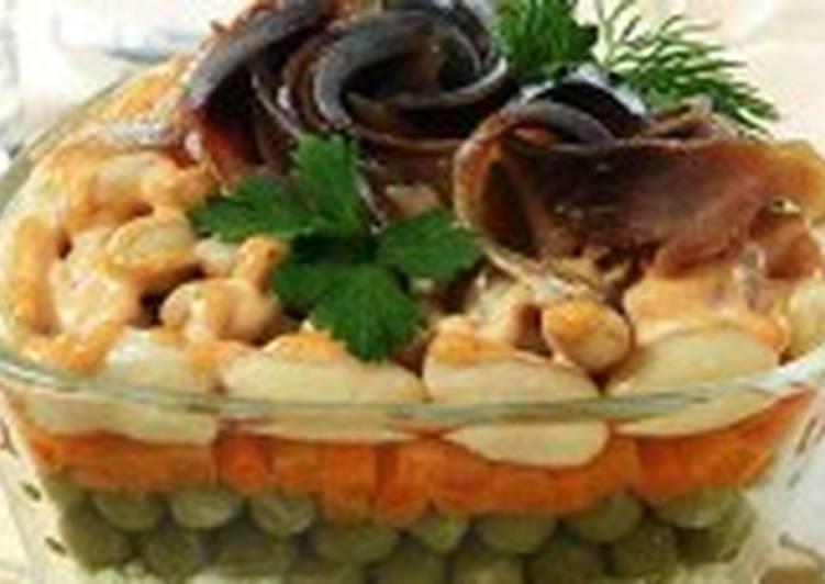 Салат из сельди по-итальянски