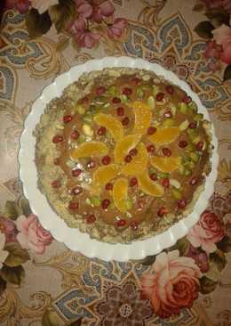"""Торт """"Новогодний"""" без пшеничной муки"""
