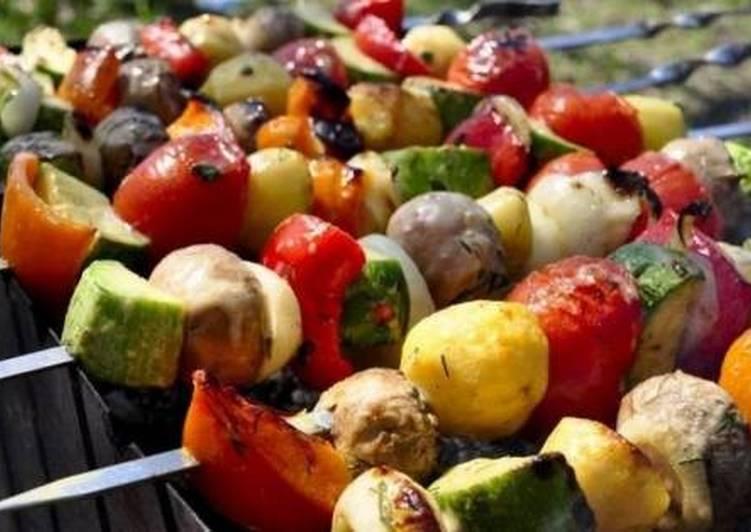 Рецепт вегетарианский шашлыка