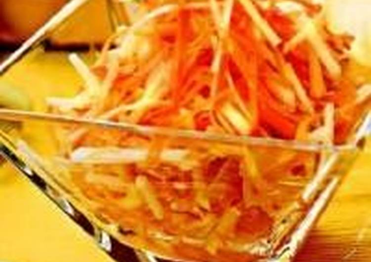 Морковный салат «По-восточному»